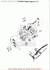 suzuki a100 as100 ac100 1969 usa e03 flywheel magneto ignition