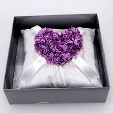 wedding ring pillow new satin wedding bearer pillow ring pillow with sash