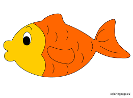 goldfish coloring page