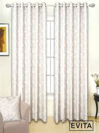 Terracotta Curtains Ready Made by Evita Natural Ready Made Eyelet Curtains Harry Corry Limited
