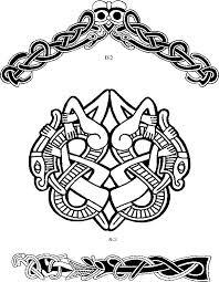 93 best viking design ornament images on viking