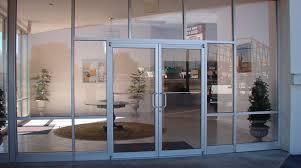 Exterior Glass Front Doors by Exterior Office Doors Gallery Doors Design Ideas