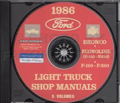 1986 ford bronco and f150 f250 f350 electrical troubleshooting manual