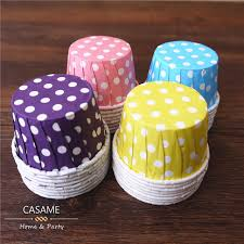 candy cups wholesale nut portion cups baking mini candy box color polka dot paper cake