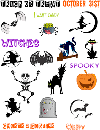 halloween printables bookmarks cartoon book cool stickers props
