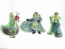 96 best kinkade santa ornaments images on santa