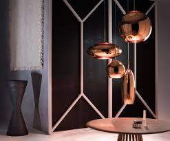 copper round 25cm pendant pendant lights tom dixon