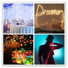 amazon com brighttouch led fairy lights string warm