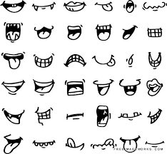 how to draw doodle faces draw icon adorable angry caricature