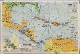The Caribbean Map by United States In The Caribbean Jpg