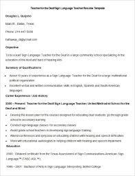 Teacher Resume Template For Word by Teacher Resume Samples In Word Format Best Resume Collection