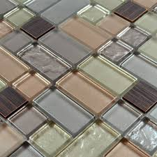 hand painted tiles for kitchen backsplash metal and glass tile backsplash hand painted aluminum tile crystal