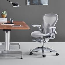 Herman Miller Adjustable Height Desk by Herman Miller Herman Miller Aeron Chair Remastered Workbrands