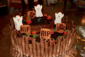 Scary Halloween Cakes by Spooky Halloween Graveyard Cake U2013 Creative Super