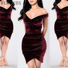 aliexpress buy wholesale deal new arrival wholesale velvet wine v neck sleeveless club factory clothes