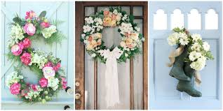 Front Door Decoration Ideas Glamorous Front Door Decorating Ideas For Spring 63 With