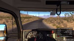 Semi Truck Interior Accessories American Truck Simulator Gameplay Review Ats Mods