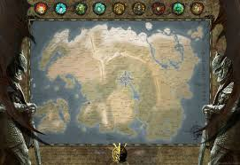 Elder Scrolls Map Tamriel Map The Elder Scrolls Universe By Dwarfchieftain On