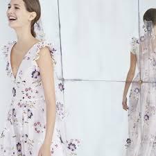 carolina herrera strapless lace wedding dress with blue belt fall