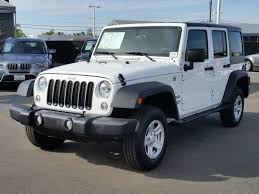 jeep wrangler 2 door hardtop used 2017 used jeep wrangler unlimited sport 4x4 at bmw of san diego