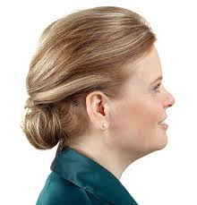 hairstyle that covers hearing aid wearer tech advances upgrade hearing aids machine design