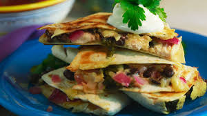 emeril lagasse s thanksgiving leftovers turkey quesadilla recipe