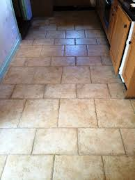 dealing with porcelain hallway tiles cleaning