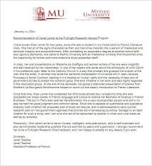 self recommendation letter letter of recommendation for services