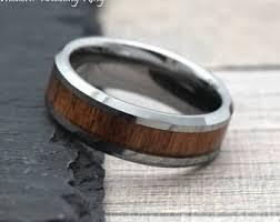 mens wooden wedding bands wood wedding band etsy