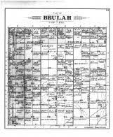 beulah dakota map davison county 1901 south dakota historical atlas