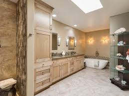 bathroom baseboards chandelier crown molding double sinks
