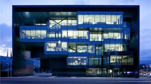 siege social audi audi s architectural glass pavilion stylus innovation research