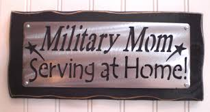 Marine Home Decor Military Mom Serving At Home Sign Shelf Sitter Peice Elegant
