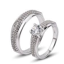 finger rings silver images Men and women silver finger rings multilayer zircon bridal design jpg