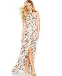guess floral halter maxi dress dresses women macy u0027s