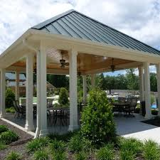 Backyard Pavilion Plans Ideas 40 Best Pavilions Decks N U0027 Patios Images On Pinterest Decking