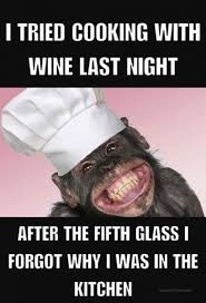 Funny Cooking Memes - cooking with wine meme share its funny