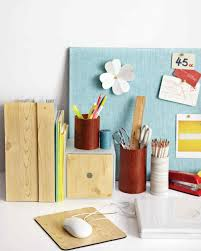 Desk Organization Diy Desk Organizing Ideas Martha Stewart