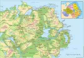 Northern Ireland Map Anglonautes U003e Cartes Maps U003e Irlande Du Nord Northern Ireland