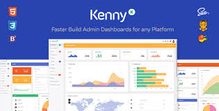 kenny v2 0 1 dashboard admin site responsive template