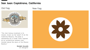 California State Flag Meaning See 13 City Flags Get A Modern Minimalist Makeover