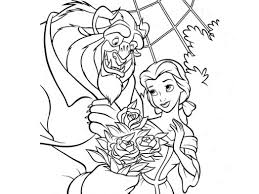disney coloring page beauty and the beast 972511 coloring pages