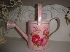 shabby chic rusty tin watering can shabby chic and shabby chic