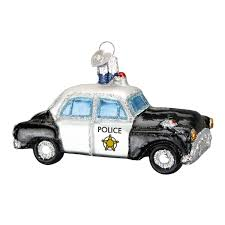 world car glass blown ornament
