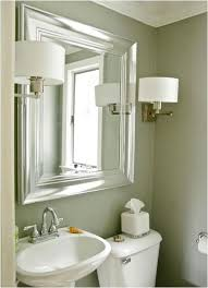 Bathroom Mirrors Brushed Nickel Brushed Nickel Bathroom Mirror As Sweet Wall Decoration Homesfeed