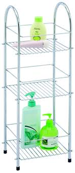 Bathroom Storage Chrome Bathroom Quality Sabichi Chrome Plated 3 Tier Bathroom Storage