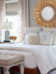 Mirror As A Headboard Ideas For Decorating Over The Bed