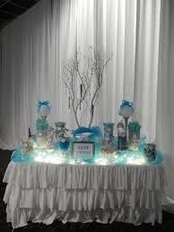 wedding candy buffet by sugarpalooza using tea lights or