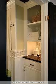 Bathroom Closet Shelves Bathroom Closet Bathroom Remodel Original Linen Closet Replaced