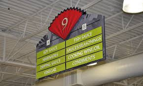 grocery aisle signs interior market design aisle marke flickr
